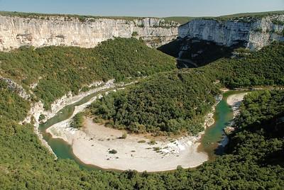 Gorges de l'Ardèche - Cirque de la Madeleine