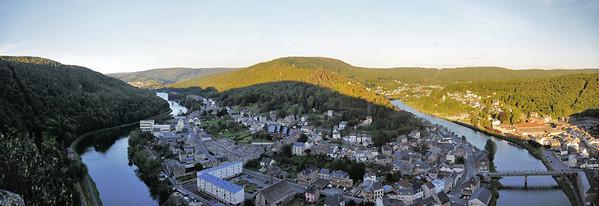 Bogny-sur-Meuse et le rocher des Quatre Fils Aymon