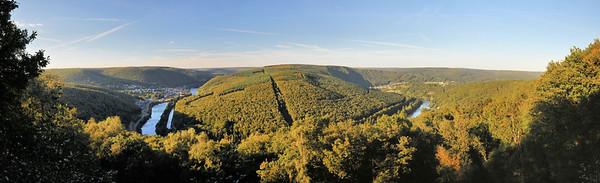 Forêt de Château-Regnault - Belvédère de la Roche aux Sept Villages