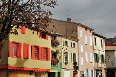 Mirepoix - Place Philippe de Lévi
