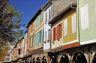 Mirepoix - Place Maréchal Leclerc