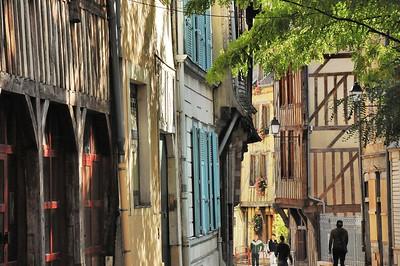 Troyes - Rue de la Montée des Changes
