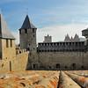 Cité de Carcassonne - Sur le rempart du château comtal