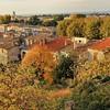 Carcassonne - Au pied de la Cité
