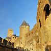 Cité de Carcassonne - Près de la porte d'Aude