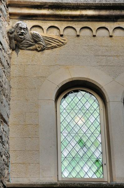 Cité de Carcassonne - Détail sculpté rue du Four Saint-Nazaire