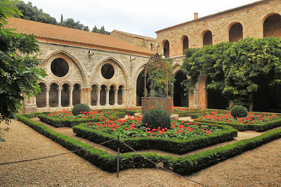 Abbaye de Fontfroide - Cloître