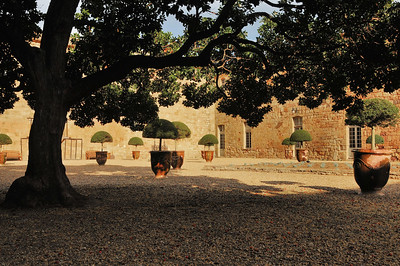Abbaye de Fontfroide - Cour Louis XIV