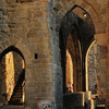 Cité de Carcassonne - Rempart sous le château comtal