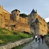 Cité de Carcassonne - Sous la porte d'Aude