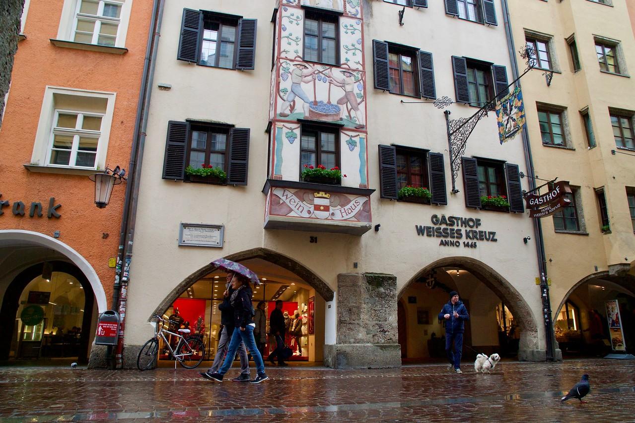 Alt Stadt (Old Town) Innsbruck