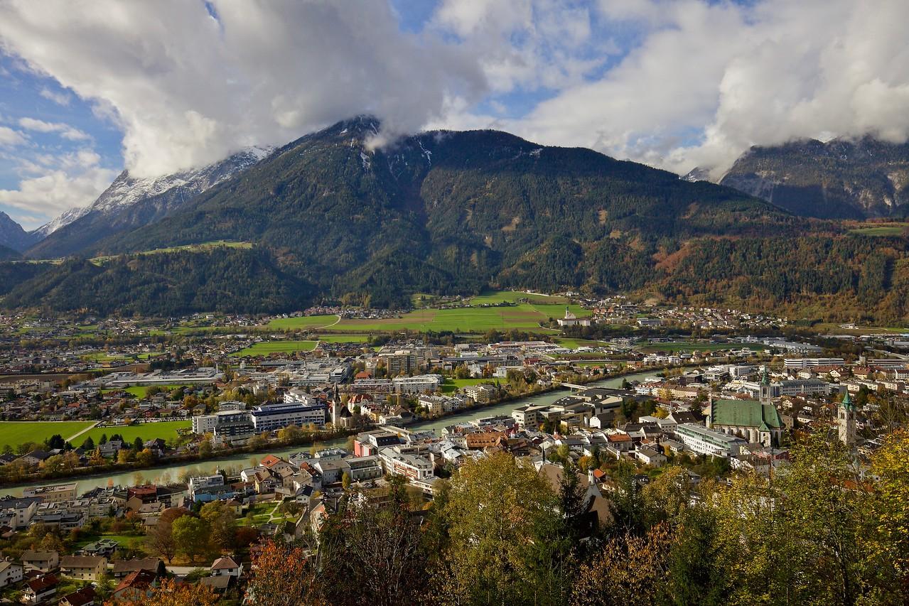 Inn River Valley, Schwaz, Austria