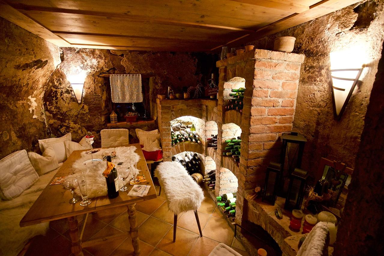 PIllsberg farm, wine room