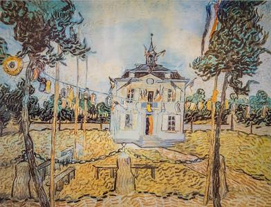 Hotel de Ville by Van Gogh