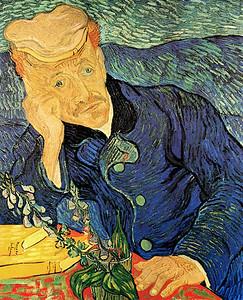 Dr. Gachet by Van Gogh #01