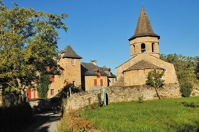 Salles-la-Source - Eglise Saint-Paul