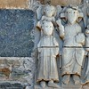 Conques - Détail de l'abbatiale Sainte-Foy
