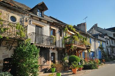 Najac - Place du Faubourg