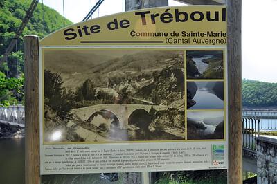 Ce qu'était autrefois le pont de Tréboul, avant le barrage