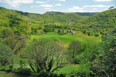 Bor et Bar - Bar - Les vallonnements de l'Aveyron