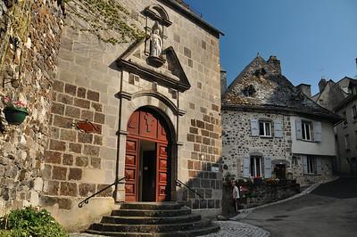 Mur-de-Barrez - Rue de la Berque - Monastère Sainte-Claire de Mur-de-Barrez
