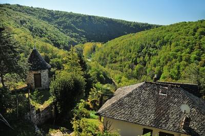 Le paysage de Najac