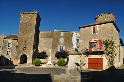 Sainte-Eulalie-de-Cernon - Enceinte fortifiée hospitalière