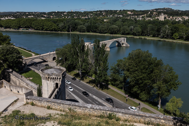 "Pont St. Benezet - Subject of Children's Song """"Sur le Pont d'Avignon"""