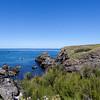la pointe des poulains : pas de chance la mer est calme ;-)