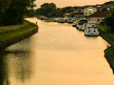 Marne-Rhine Canal Barge Trip