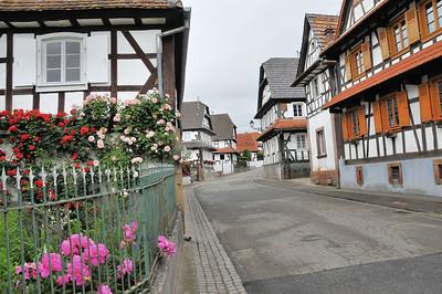 Hunspach - Rue principale