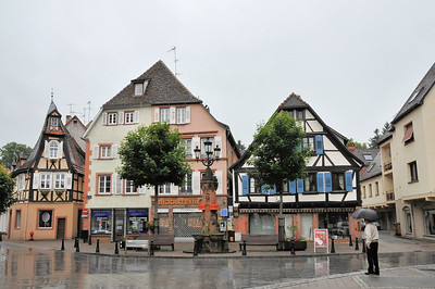 Wissembourg - Place du Marché aux Choux