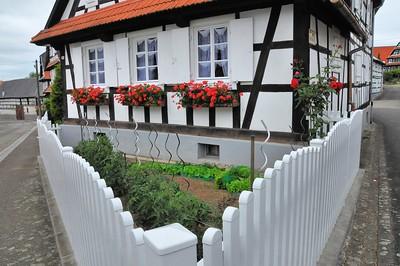 Hunspach - Hunspach - Angle rue Principale, rue de l'Ange