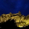 baux-de-provence by night