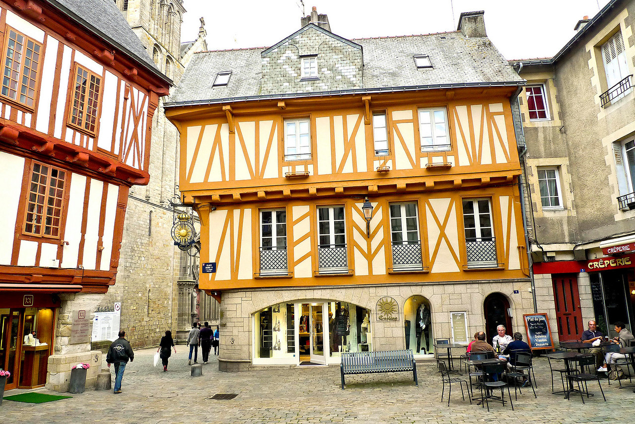 Timber framed buildings of Vannes