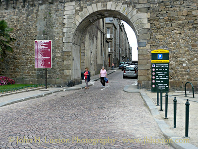 St. Malo - Brittany - France - August 27, 2009