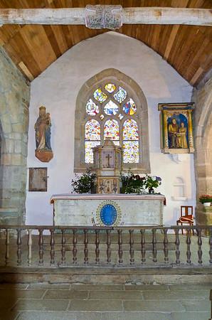 Chapelle de Tremalo outside Pont Aven