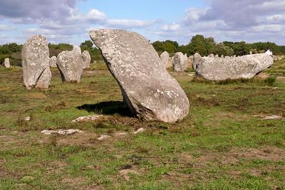 Standing stones (menhirs) of Carnac