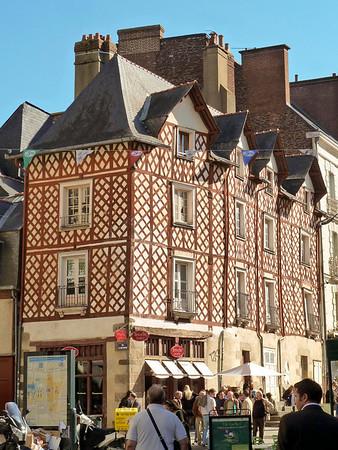Timber framed buildings in Rennes