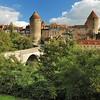 Sémur-en-Auxois - Le pont Joly sur l'Armançon
