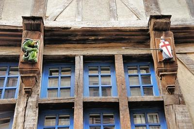 Dinan (Dinan) - Rue du Petit Fort
