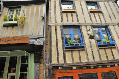 Dinan (Dinan) - Rue du Jerzual