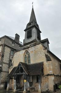 Honfleur - Quai Saint-Etienne - Musée de la Marine... dans une église