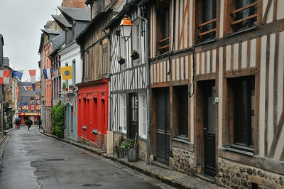 Honfleur - Rue des Capucins