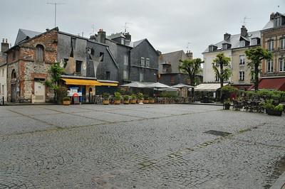 Honfleur - Place Arthur Boudin