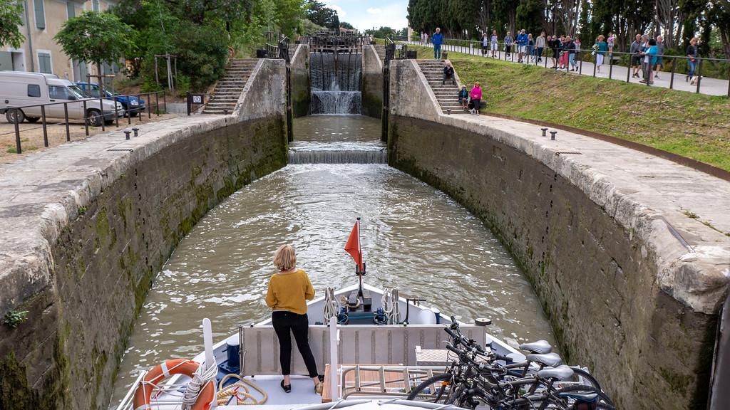 Fonserannes Locks in Beziers - Athos du Midi