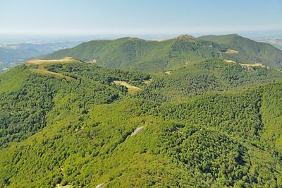 Au sommet du Puy Griou - Puy de la Poche (1.503m), Elancèze et Courpou sauvage