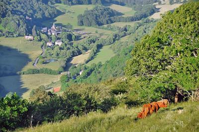 Vallée de la Maronne et Saint-Paul-de-Salers