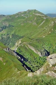 Au sommet du puy Mary - Puy Chavaroche