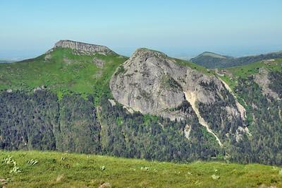 Roche Taillade et roc d'Hozières